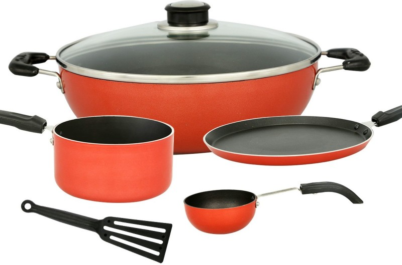 TOP 10 BEST NON STICK COOKWARE SET IN INDIA 2019 - Vah Deals