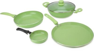Wonderchef Family Set with Free Fry Pan Cookware Set(Aluminium, 4 - Piece)