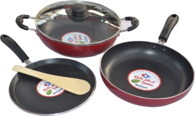 Bajaj Majesty Duo Cookware Set(PTFE (Non-stick), 3 - Piece)