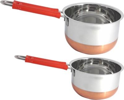 bartan hub Cookware Set(Stainless Steel, 2 - Piece)