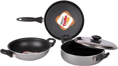 Maple Cookware Set(PTFE (Non-stick), 3 - Piece) at flipkart