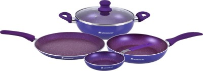 Wonderchef Blueberry Set Cookware Set(PTFE (Non-stick), 4 - Piece)