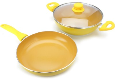 Wonderchef Wonderchef Da Vinci set Cookware Set(Plastic, 3 - Piece)