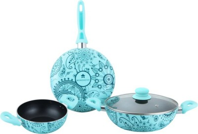 Wonderchef Oscar Blu Set Bello Cookware Set