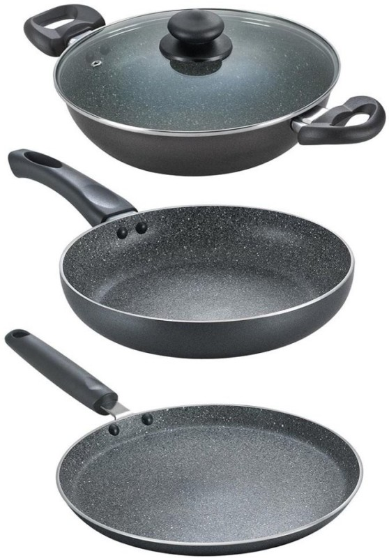 Prestige Cookware Set(Marble, 3 - Piece)