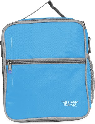 Fridge To Go Nylon, Polyester Cooler Bag(Sky Blue Collapsible)