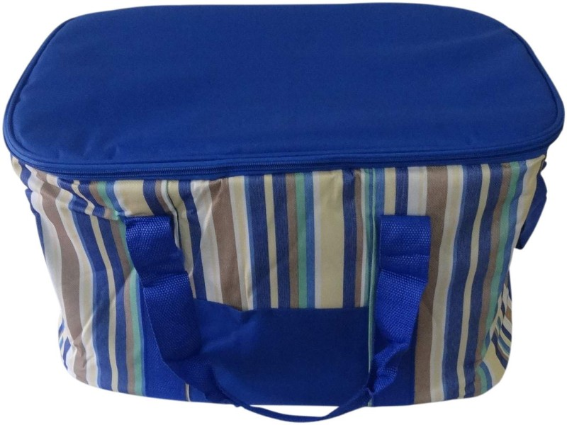 Decorika Polyester Cooler Bag(BERRY BLUE Collapsible)