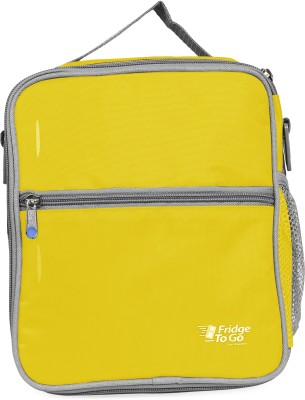 Fridge To Go Nylon, Polyester Cooler Bag(Yellow Collapsible)