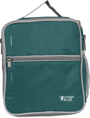 Fridge To Go Nylon, Polyester Cooler Bag(Green Collapsible)