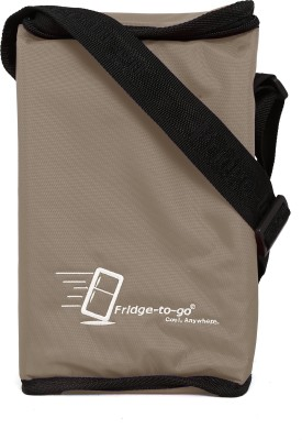 Fridge To Go Nylon, Polyester Cooler Bag(Camel Collapsible)