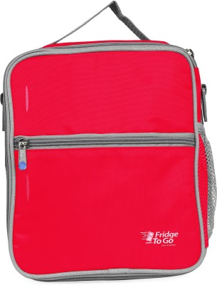 Fridge To Go Nylon, Polyester Cooler Bag(Red Collapsible)