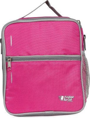 Fridge To Go Nylon, Polyester Cooler Bag(Pink Collapsible)