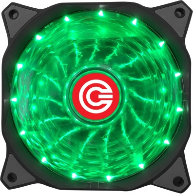 Circle CG 16XG Green LED Fan Cooler(Green)