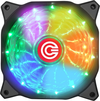 Circle CG 16X7C Multi Colour Gaming Fan Cooler
