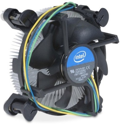 Intel Genuine CPU FAN for Corei3/15/17 CPUs Cooler(Black)