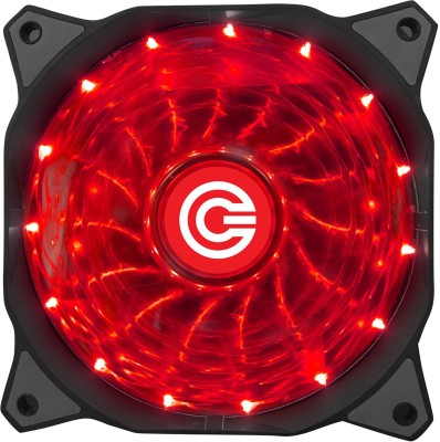 Circle CG 16XR Red LED FAN Cooler(Red)