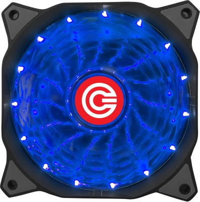 Circle CG 16XB Blue LED Fan Cooler