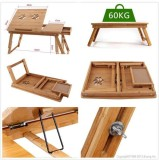 Elite Mkt Solid Wood Portable Laptop Tab...