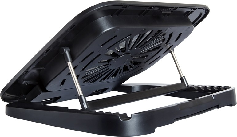 Lapcare Fusion Laptop Stand Cooling Pad(Black)