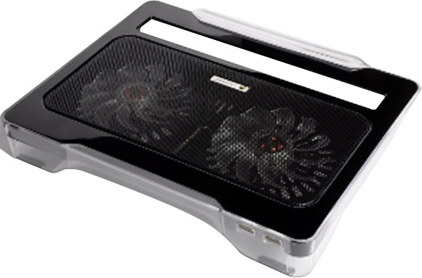 Lapcare Air Station for Laptop Cooling Pad(Black)
