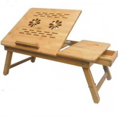 Anything&Everything Portable Wooden Laptop Table Cooling Pad