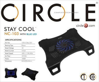 Circle NC103 Cooling Pad(Black)