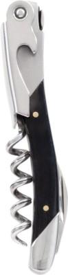 True Vino Maestro Corksrew - Ox Horn Multicolor Stainless Steel Waiters Corkscrew
