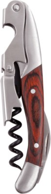 True Vino Rustic Farmhouse: Double Hinged Multicolor Stainless Steel Waiters Corkscrew
