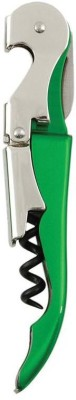 True Vino Green Stainless Steel Wing Corkscrew