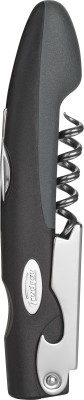 Trudeau Grey Polypropylene, Stainless Steel Waiters Corkscrew