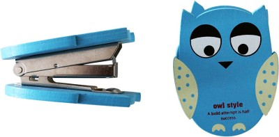 Tappu Ki Dukaan 1 50 mm Vintage Owl Stapler(Set of 1, Multicolor)