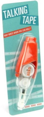 Its Our Studio Quirky 10 mm Correction Tape(Set of 1, Orange)