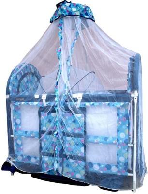 BORN BABIES baby cot BASSINET(Blue)