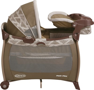 Graco Pack ,n Play Silhouette - Farrow Cot
