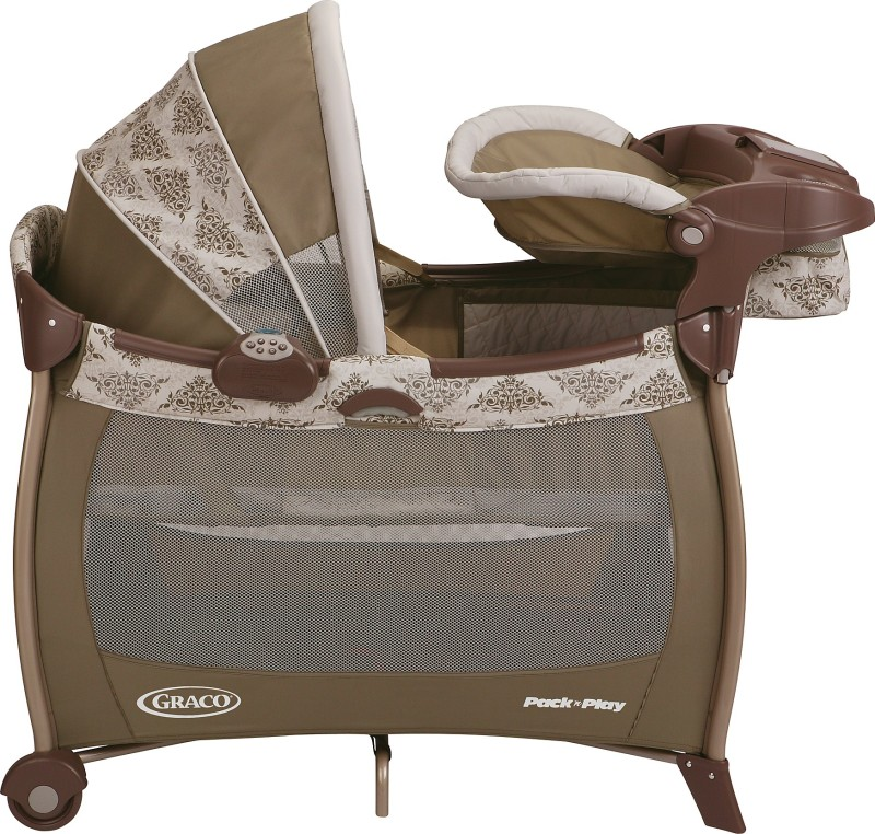 Graco Pack 'n Play Silhouette - Farrow Cot(Multicolor)
