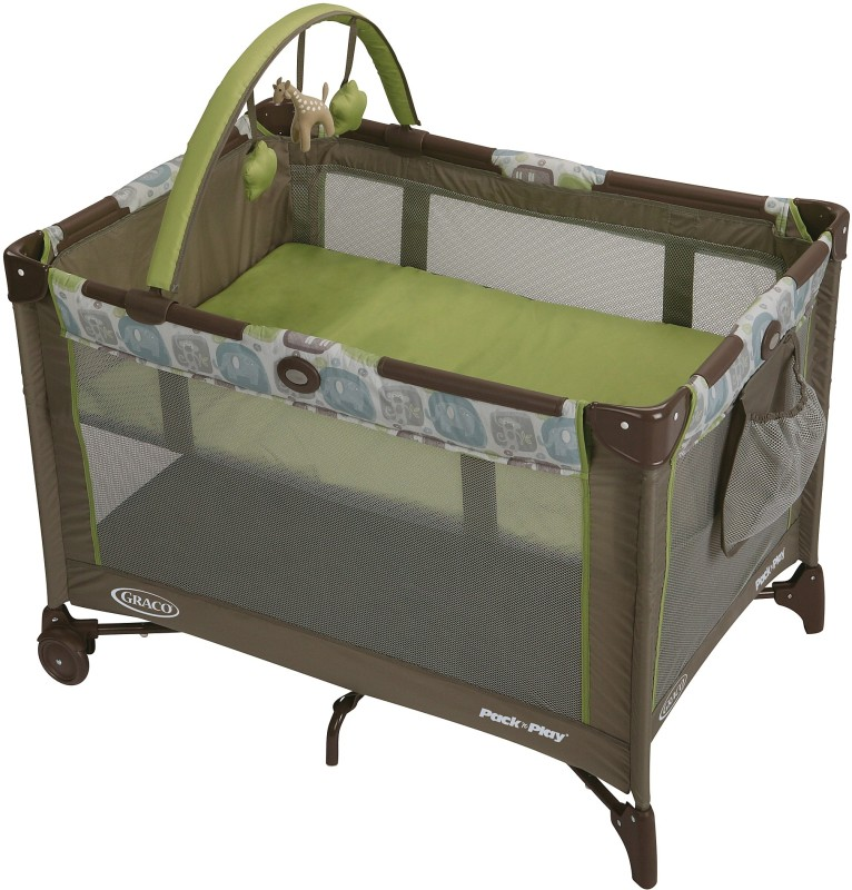 Graco Pack 'n Play On The Go Playard - Sequoia Cot(Multicolor)