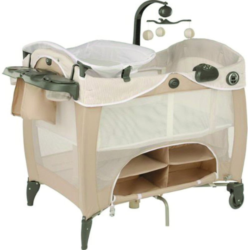 Graco Pack 'n Play Contour Electra Prestige - Benny and Bell Cot(Multicolor)