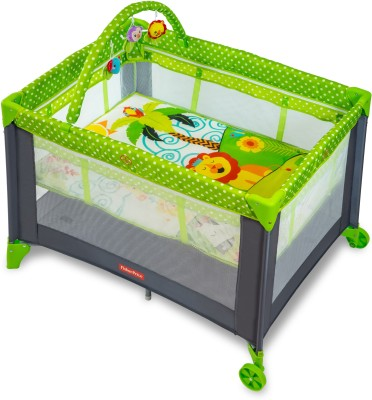 Fisher Price Playmate Portable cot(Multicolor)