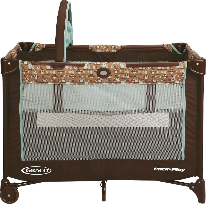 Graco Pack 'n Play On The Go Playard - Little Hoot Cot(Multicolor)