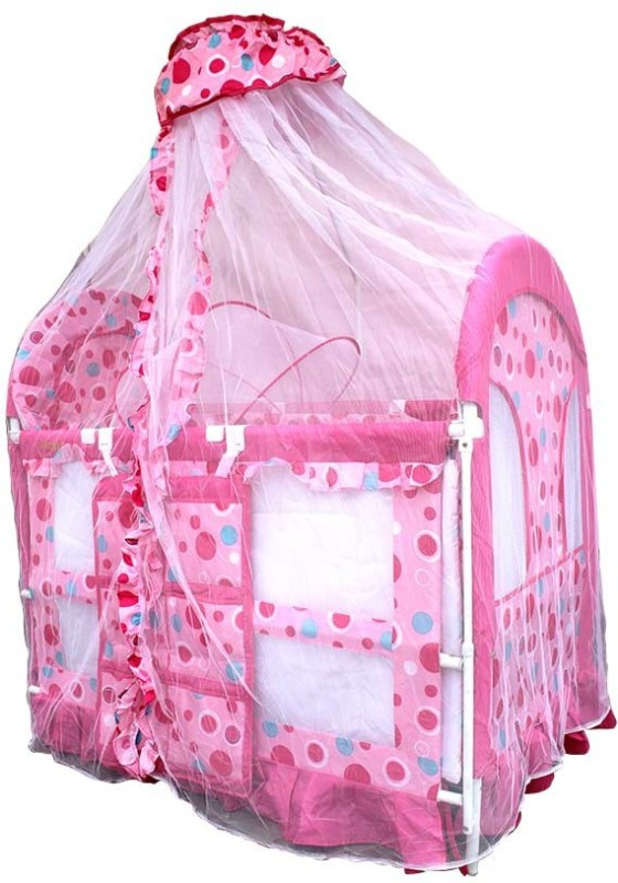 Born Babies BABY COT BASSINET(Pink)