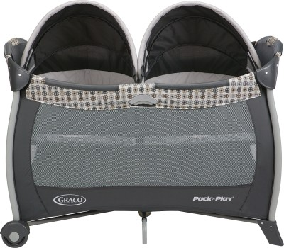 Graco Pack ,n Play Playard with Twins Bassinet - Vance Cot(Multicolor)
