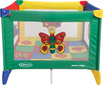 Graco Pack ,n Play Pnp Square Bugs - Quilt Cot
