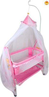 BAYBEE ComfyNest Swing Cradle (Pink) Bassinet(Pink)