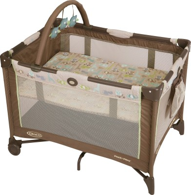 Graco Pack ,n Play On The Go - Forest Friends Cot