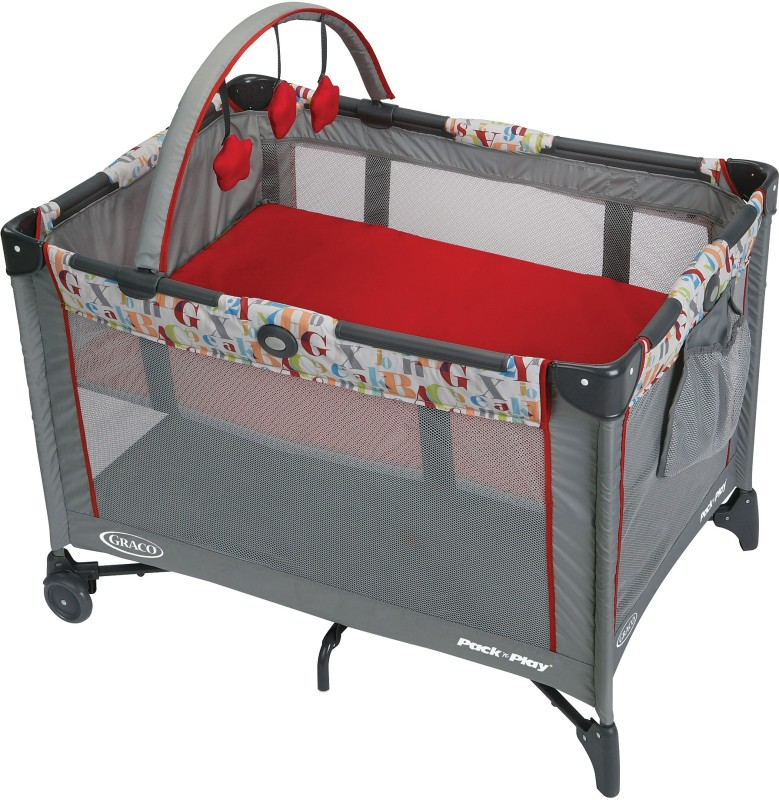 Graco Pack 'n Play On The Go Playard - Signal Cot(Multicolor)
