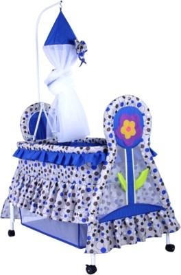 delia Swinging Cradle~Blue Bassinet(Blue)