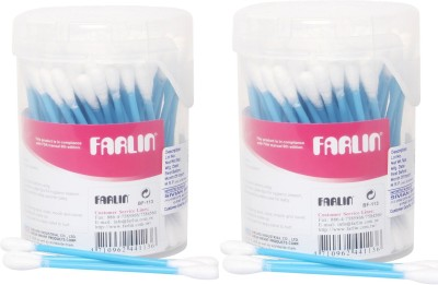 FARLIN Combo of 2pcs Cotton Buds