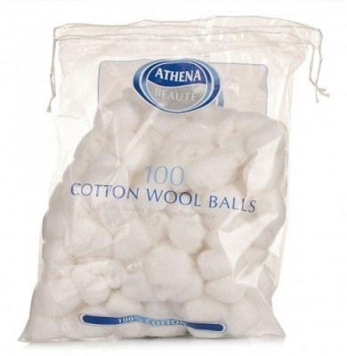 Athena Athena Cotton Balls(Pack of 100)
