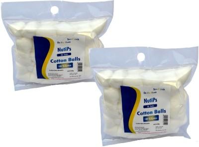 Nutips Cotton Balls 50 U(Pack of 50)