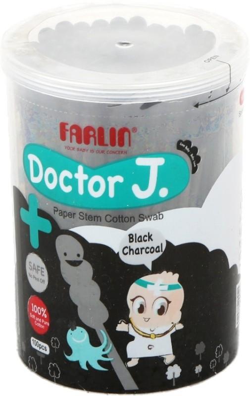 Farlin Farlin Paper Stem Cotton Swab (100PCS)(Pack of 100)